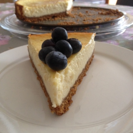 Greek Yoghurt Cheesecake