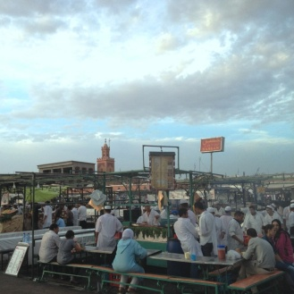 Marrakech_Foodstalls