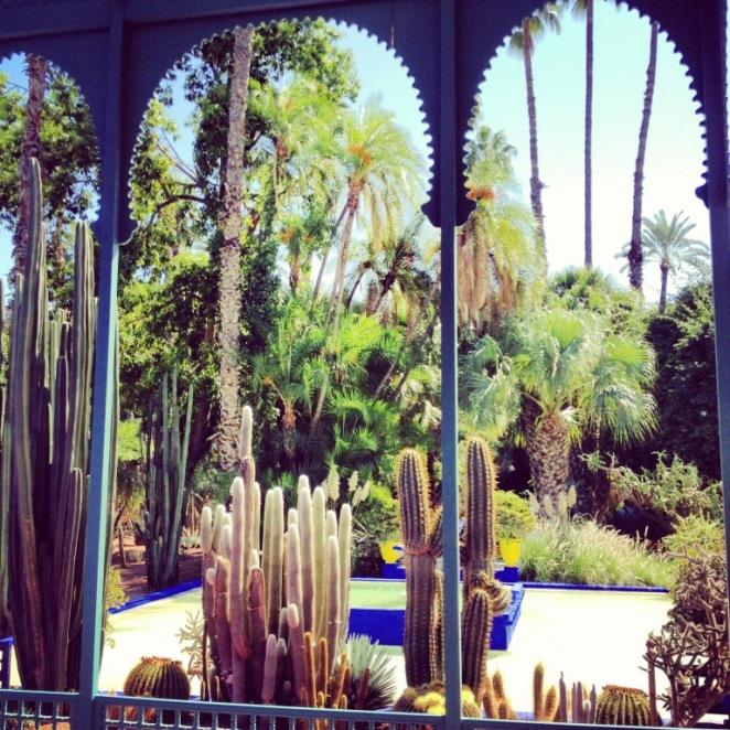 Marrakech_Jardin Majorelle_Arches