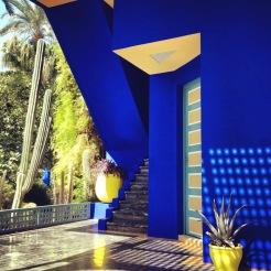 Marrakech_Jardin Majorelle_Blue