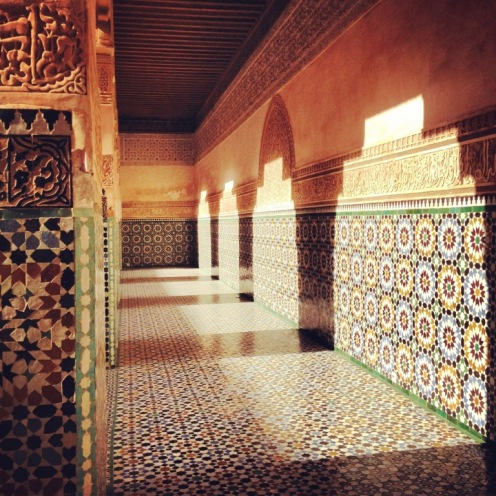 Marrakech_Mosaik