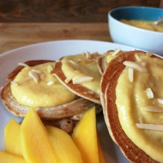 Vanilla Pancakes4