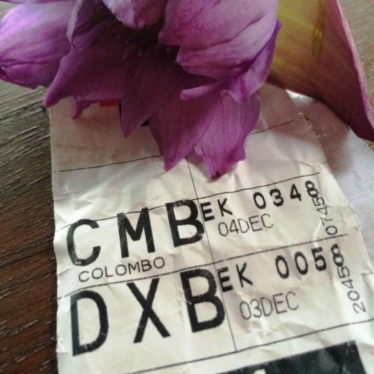 DXB - CMB