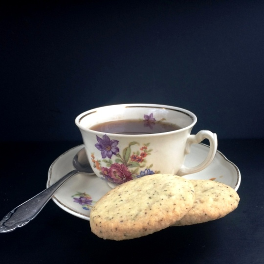 Earl Grey Shortbread and Teacup