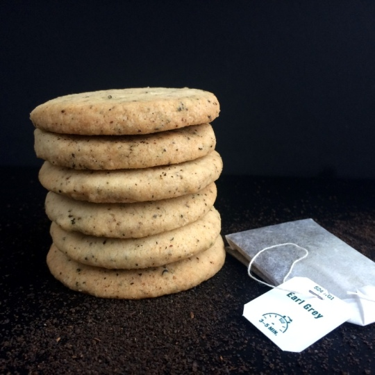 Earl Grey Shortbread_Stack and Teabag