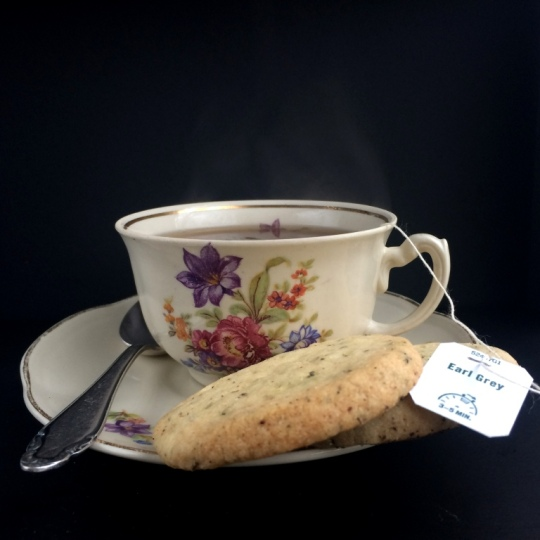 Earl Grey Shortbread_Steaming Teacup