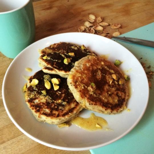 Chia Lemon Pancakes